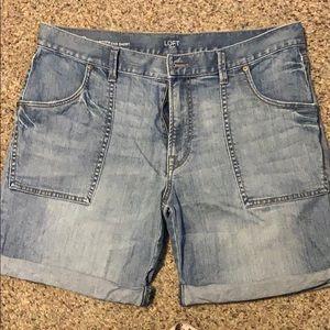Loft Boyfriend Shorts
